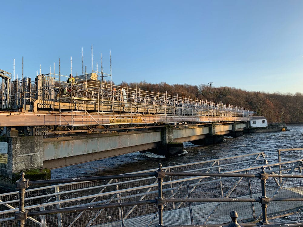 Houtman have completed the 2nd Stage of design scaffolding at 'The Cutts' Coleraine Image