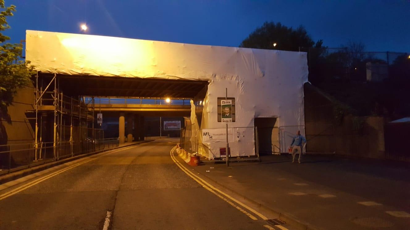 Railway bridge Portadown Phase 2 Featured Image