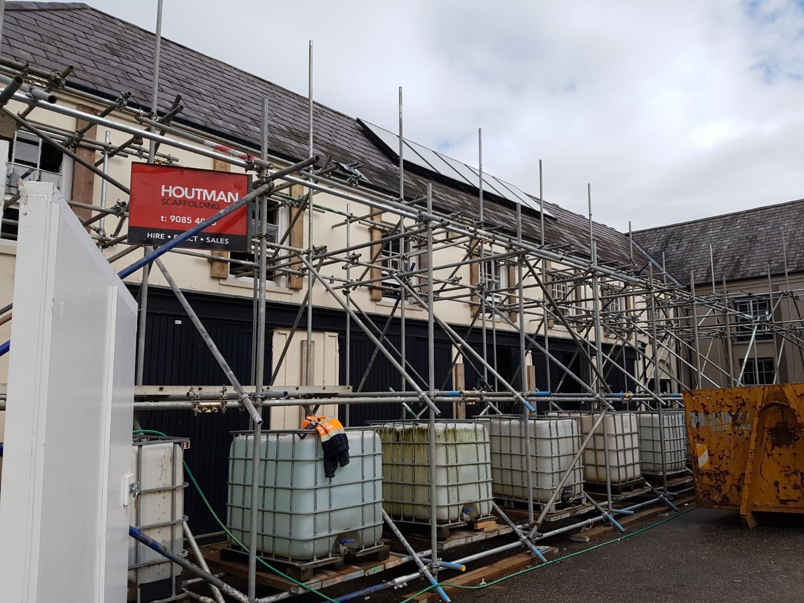 hillsborough castle facade retention Featured Image